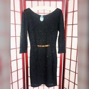 Little sparkling black dress 🌹🌙